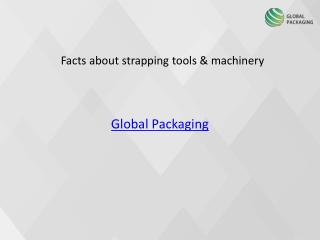 Facts about strapping tools & machinery