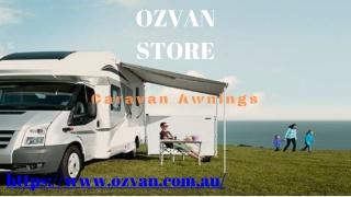 Best Caravan Awnings, Doors, Windows Available On Ozvan Store