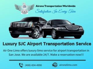 Luxury SJC Airport Transportation Service