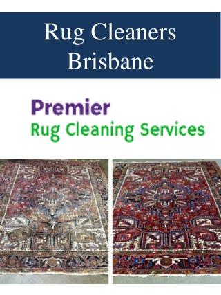 Rug Cleaners Brisbane