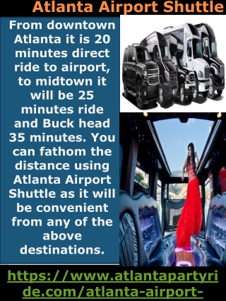 Now You Can Have Your atlanta airport shuttle Done Safely-Atlanta Part