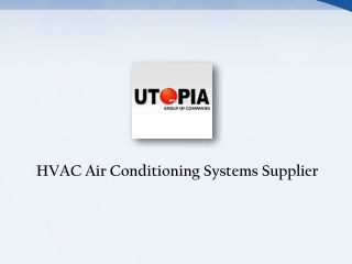 Hvac Air Conditioning System