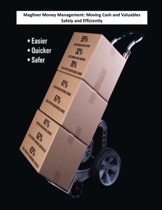 Magliner Money Management: Moving Cash and Valuables Safely and Efficiently