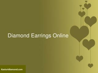 Diamond Earrings Online