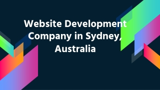 Introductions to Web Development Company