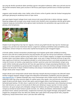 Situs Judi Bola Asia Fanduel-pennsylvania Online Sportsbook