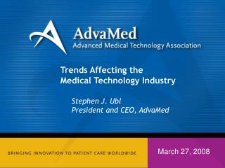 Trends Affecting the Medical Technology Industry