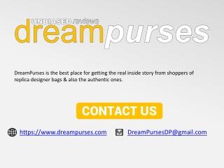 Replica Designer Handbag Reviews and Shopping - DreamPurses