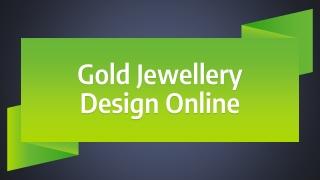 Gold Jewellery Design Online