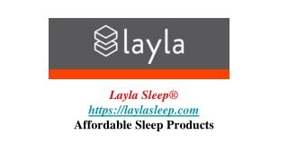 Layla Adjustable Mattress Base | Sleep Products