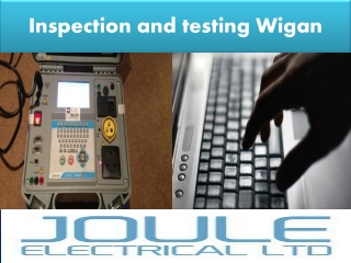 Inspection and testing wigan