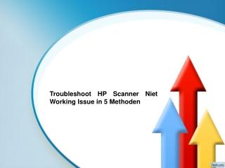 Troubleshoot HP Scanner Niet Working Issue in 5 Methoden
