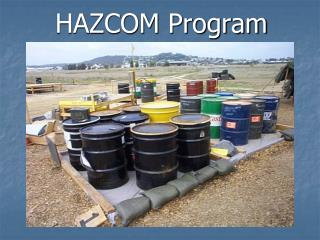 HAZCOM Program