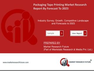 Packaging Tape Printing Industry