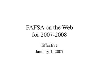 2007-2008  :