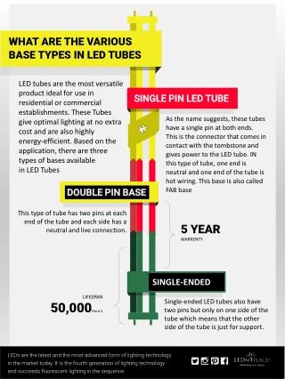 Single Pin LED Tube Vs Double Pin LED Tube