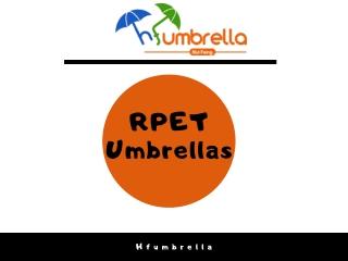 RPET Umbrellas