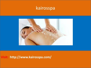 Best Body Massage Centre In Velachery