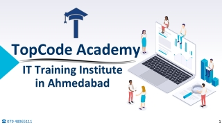 TopCode Academy - IT Training Institute in Ahmedabad