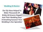 Wedding Ceremony And Reception Services