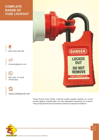 Different Types of Fuse Holder Lockout Devices
