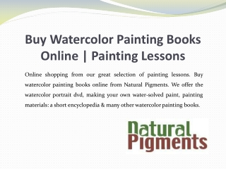 Buy Watercolor Painting Books Online   Painting Lessons