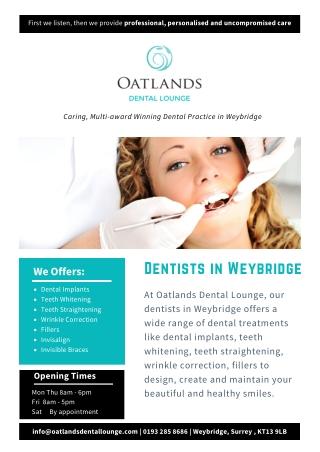 Dentists in Weybridge