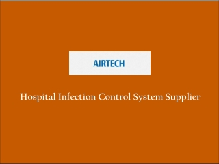 Hospital Infection Control System