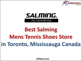Salming Mens Tennis Shoes Store in Toronto, Mississauga Canada - ATR Sports