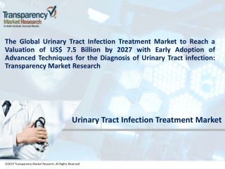 Urinary Tract Infection Treatment Market by Disease, Drug Class, Size, Share and Forecast to 2027 - TMR