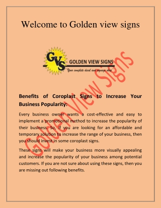 Coreplast signs , Metal Marking Compound  - gvsigns.ca