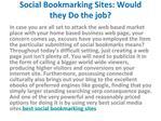Best Social Bookmarking Sites