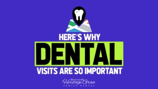 Here's Why Dental Visits Are So Important