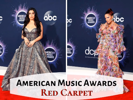 American Music Awards 2019 Red Carpet