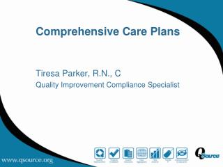 Comprehensive Care Plans