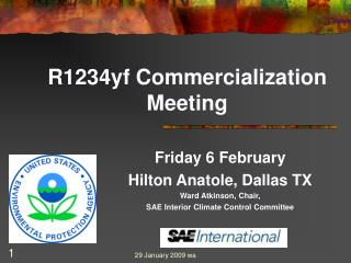 R1234yf Commercialization Meeting
