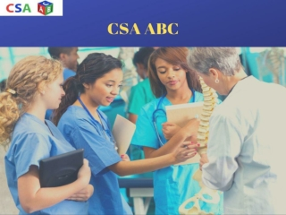MRCGP CSA - CSA ABC