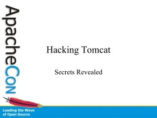 Hacking Tomcat