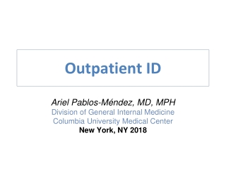 Outpatient ID