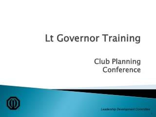 Leadership Development Committee
