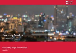 Property Market In Thailand 1H 2017
