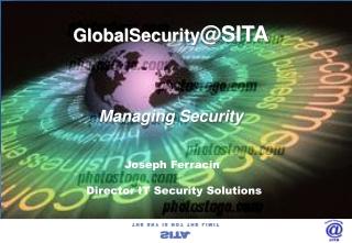 GlobalSecurity @SITA