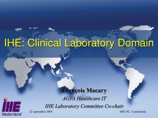 IHE: Clinical Laboratory Domain