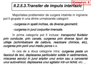 II.2.5.3.Transfer de impuls interfazic