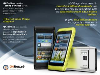 QATestLab - Mobile Testing Services