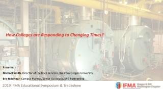 2019 IFMA Educational Symposium & Tradeshow