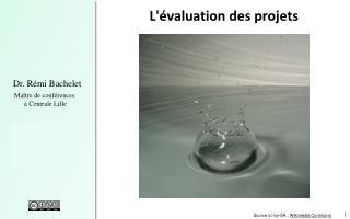 L'évaluation des  projets