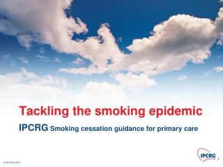 Smoking Cessation: A Practical Overview of Pharmacotherapy