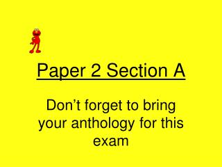 Paper 2 Section A