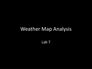 Weather Map Analysis